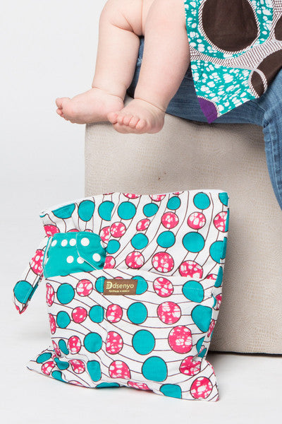 Fair Trade Diaper Wet Bag