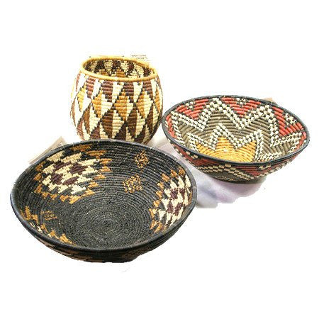 African Large Open Bowls