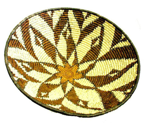 African Zulu Hand Weaved Large Bowl