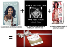Load image into Gallery viewer, Michelle Obama Wallet Collection Set