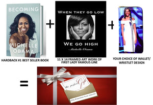 Michelle Obama Wallet Collection Set