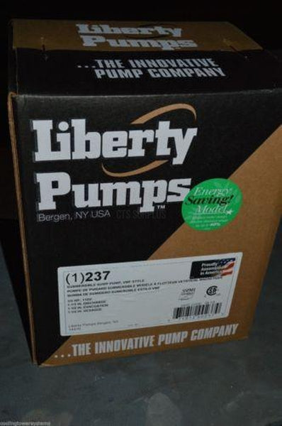 Water Pump, 1/3HP, Submersible, Liberty, New Warranty 230-Series