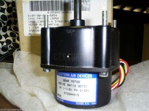 Alternating Gear Motor 400 HZ GT25AHX-5 - NSN: 6105-00-274-5059