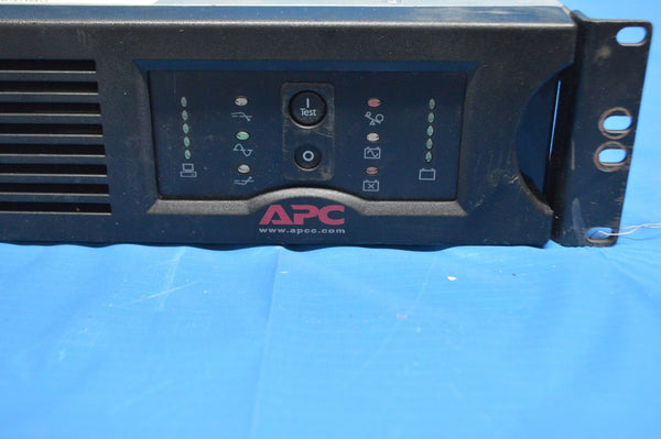 APC Smart-UPS 1400 Rackmount Uninterruptible Power Supply SU1400RM2U NSN: 6130DSINVERTE P/N: SU1400RMN2U