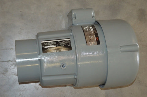 NEW Reuland 0010C-1CAN-0041 Hydraulic Pump Mount Motor 1800/1500RPM 3PH 1HP 203V NSN: 6105-01-008-2295 P/N: 8414VTYPED000283AFRAMEAFO-182