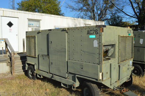 EAS Inc. 20 ton Mobile Air Conditioner NSN: 4120-01-368-8257 P/N: 62001-100