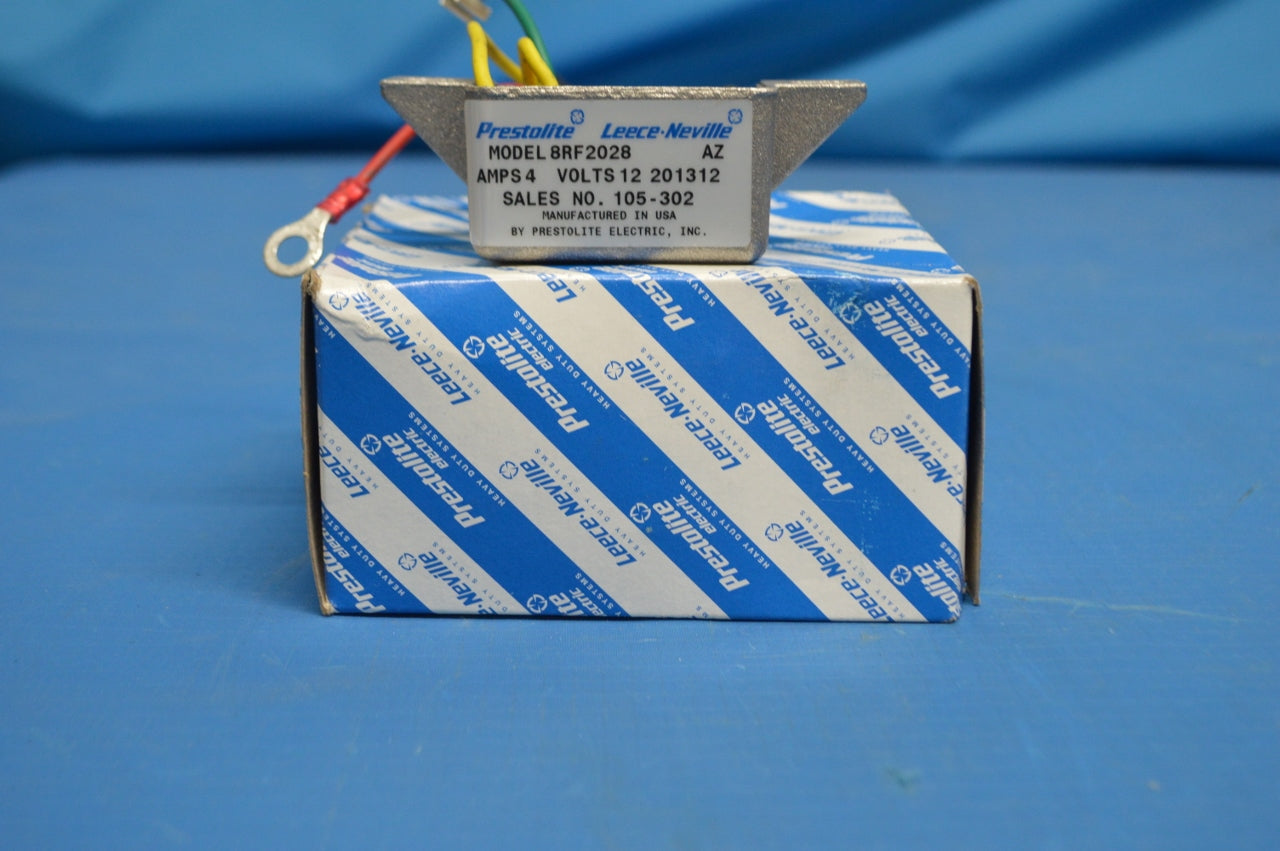 Prestolite Voltage Regulator for Forklift AC,12V,45AMP P/N:105-302 NSN:6110-01-516-1675