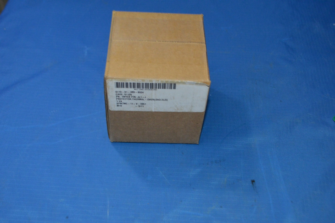 Springer Electrical Motor Thermal-overload Protector, Model:JL1J, 1.8-2.7A