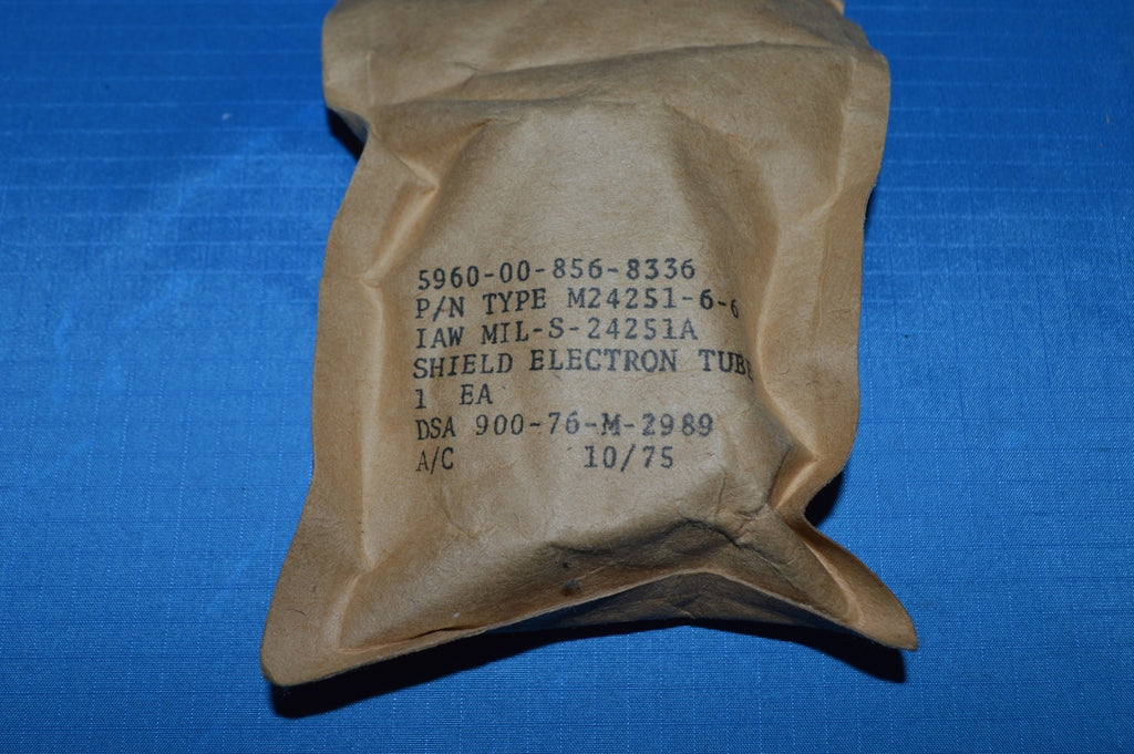 Electron Tube Shield NSN: 5960-00-856-8336 P/N: M24251-6-6