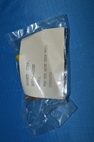 Receptacle Electrical Connector NSN:5935-00-502-3431 P/N: G6F14-92SNH