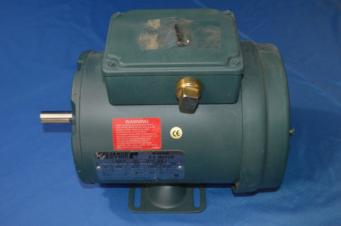1/2 HP RELIANCE AC MOTOR 1725 RPM 440v FR: fb56z NEW!