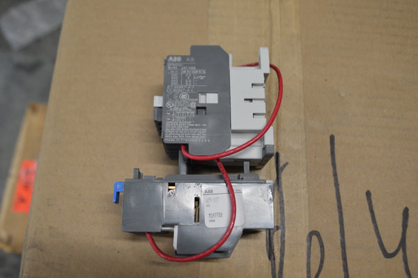 ABB Magnetic Contactor P/N:A9S-84F NSN:6110-01-474-6525