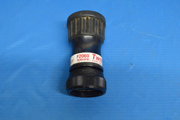 T-2060 Dual Gallonage Twister Nozzle 20/60GPM @100PSI