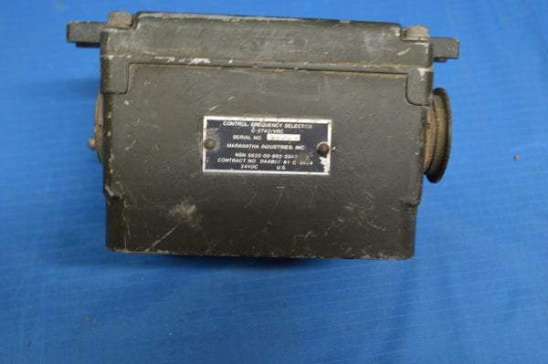 Military Radio Remote Frequency Selector Control C-2742/VRC RT-246 NSN: 5820-00-892-3343