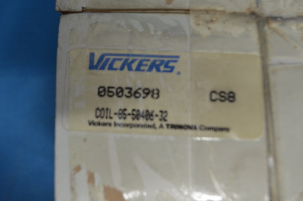 Vickers Electrical Coil P/N0503698 NSN:5950-01-017-3724
