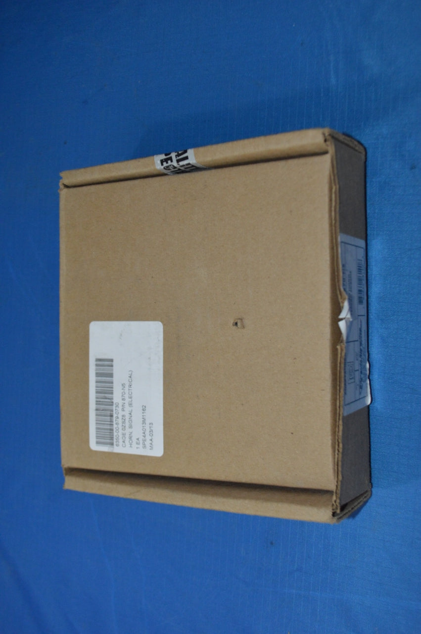 Edwards Signaling & Security Systems Weatherproof Flush Mount Horn 120VAC 50/60hz NSN: 6350-00-879-0730 P/N: 870-N5