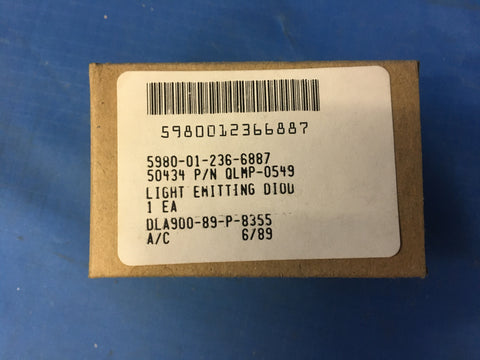 Avago Tech Light Emitting Diode NSN:5980-01-236-6887 P/N:QLMP-0549