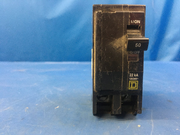 NEW!!! QO250 Square D 2pole 50amp 120/240V Plug-In Circuit Breaker
