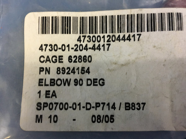 Allison Transmission Pipe Elbow for Hemtt NSN:4730-01-204-4417 Model:8924154