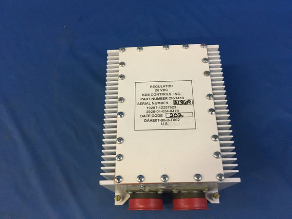 KDS Controls 12257823 Engine Generator Regulator NSN:2920-01-054-0479