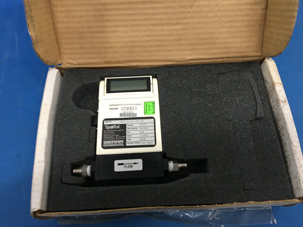 NEW Sierra Mass Top-Trak Flow Meter w/ Display 822-13-0V1-PV1-V1