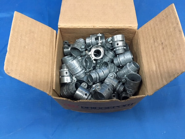"(50) 1/2"" Bridgeport Squeeze Connector P/N:407-DC2"