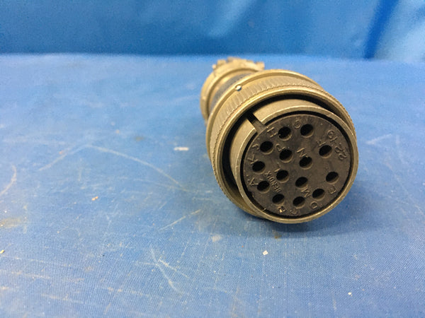 Amphenol 10-214622-19H Electrical Plug Connector NSN:5935-00-936-1500