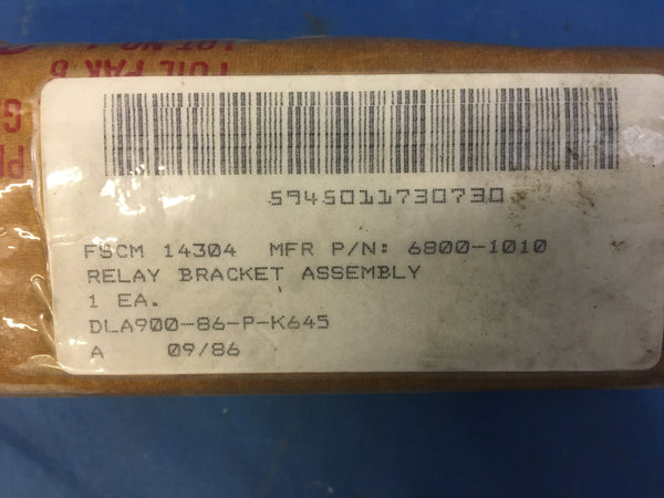 Harris Corp 6800-1010 Electromagnetic Relay NSN:5945-01-173-0730