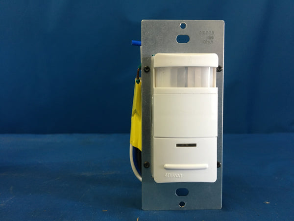 NEW!!! Leviton 091-OSSNL-IDW Decora Passive Infrared Wall Switch Occupancy Sensor