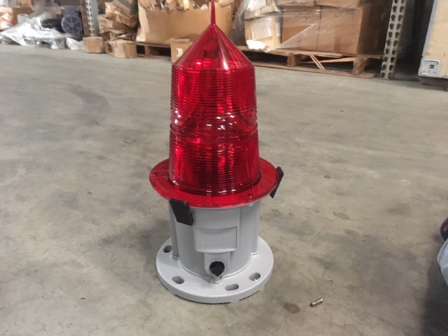 Tideland 155MM Beacon Red Marine Buoy Safety Lantern P/N:630.1030-1 NSN:6210-01-029-4174