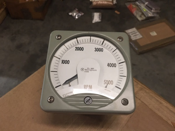 Weschler GPM Speed Indicator, 0-5000, NSN:6320-01-155-4807, Model: 1388F46 PC 18