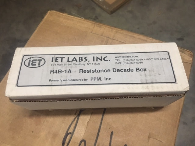 IET Labs Decade Resistor  Model:DS1463-120K NSN:6625-00-724-7983
