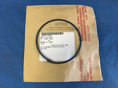 Nonmetallic Special Shaped Seal (O-ring) O-ring NSN:5331-01-417-3873 Model:7342MT-4780N
