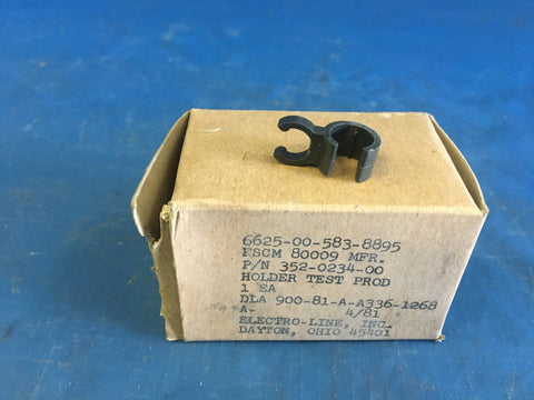 (15) Tektronix 352-0234-00 Probe Holder NSN:6625-00-583-8895