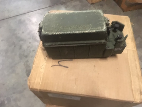 Used Battery Box PRC CY-8523A/PRC for Military Radio NSN: 6160-01-284-4200
