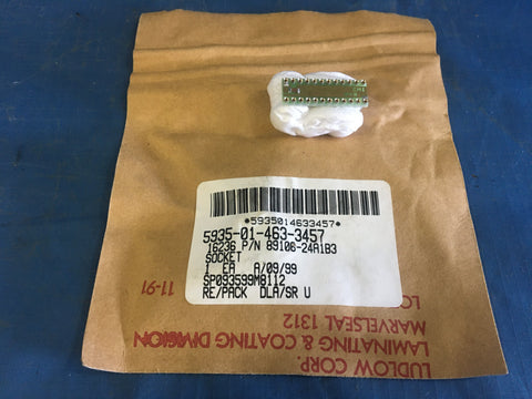 Dla Land & Maritime 89106-24A1B3 Plug-in Electronic Components Socket NSN:5935-01-463-3457