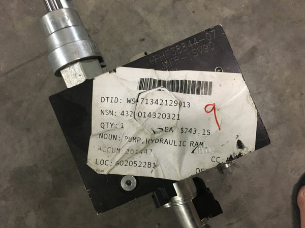 Hand Driven Hydraulic Ram Pump NSN:4320-01-432-0321 Model:HP5003-4204