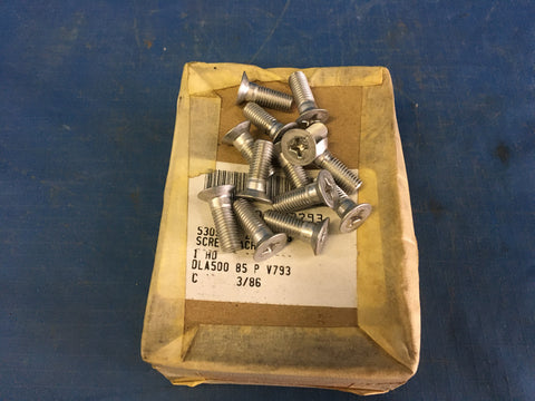 (100) National Aerospace Standards MS24694C98 Machine Screw NSN:5305-00-207-2793