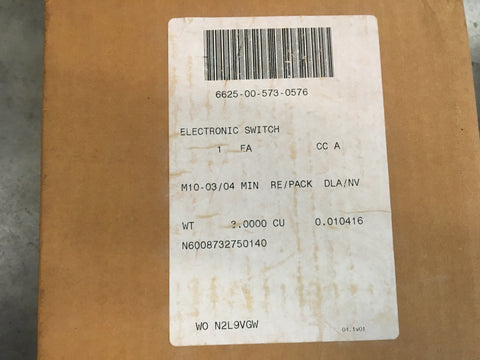 Sunbank Electrical Connector Backshell NSN:5935-00-116-1090 Model:1536560-1