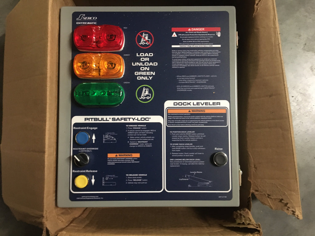 NEW!! Serco Entrematic MCO4120 Dock Vehicle Restraint Control Panel