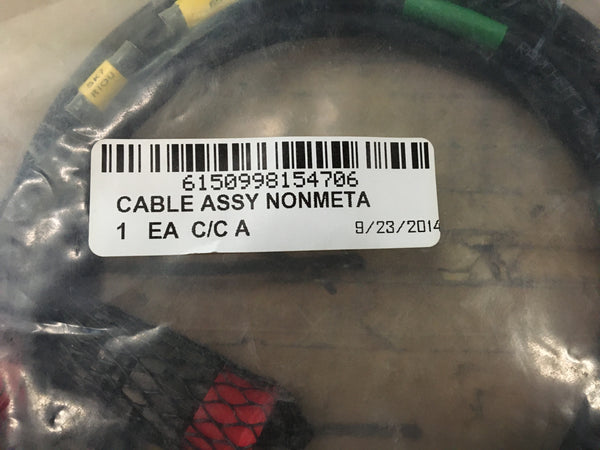 NOS Raychem 1/4 DR-25 Cable Assembly NSN:6150-99-815-4706 P/N:P6465/0020