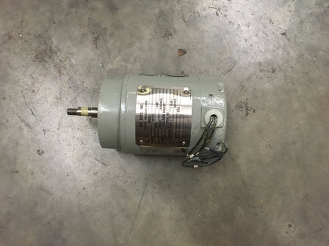 NOS Military Spec Howden Motor,1/3HP 440V 3600 RPM 3PH 0.5AMP  NSN:6105-01-455-0407 P/N: MR1028 P/N:525079-00015