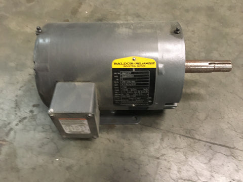 2HP Baldor-Reliance JMM3157T Electric Motor, 208-230/460V, 1740RPM, 3PH