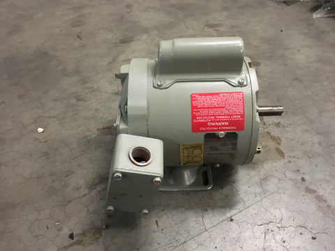 1/20HP Reliance Marine AC Motor,115V 1725RPM 1PH 60HZ P/N:706521-452 NSN:6105-01-249-4919