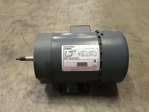 NEW!!! A.O. Smith 3/4HP AC Motor, 200-230/460V, 3PH, 3450RPM,TEFC P/N:8-16464500NSN: 6105-00-439-8264