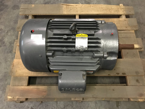 NEW!!! 30HP Baldor-Reliance Industrial Motor, 3520RPM, 230/460V< 3ph, FR:286JP