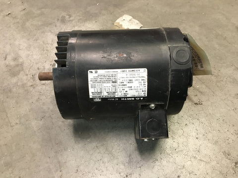 A.O. Smith P56B74B21 AC Motor, 1/2HP, 208-230/460V, 1725RPM, 3PH, 56C FR