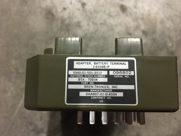 Bren Tronics Battery Terminal Adapter NSN:5940-01-501-3312 Model:BTA-70834