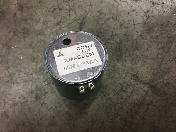 Phi Tech 6V DC Motor NSN: 6105-01-221-9481 P/N:4700-022 Model:8750-369