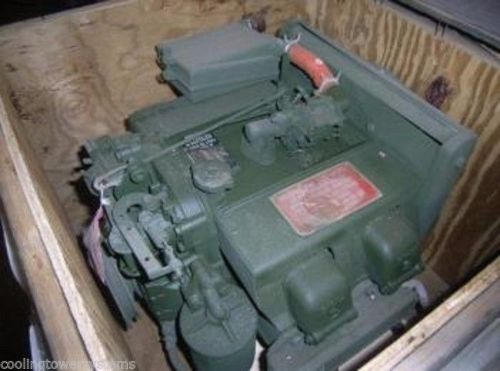 Teledyne 4 Cylinder Gas Engine NSN: 2805-01-276-5946